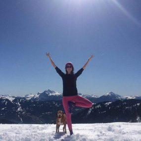 Yoga et méditation hiver en vallée du Giffre