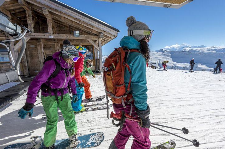 Le Salvagny l'hiver – Domaine de ski alpin du Grand massif