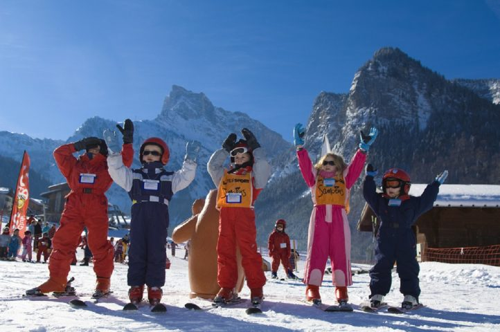 Le Salvagny l'hiver – Activités neige avec le Club Enfants