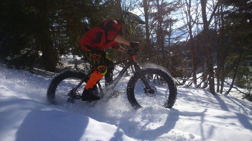 Le Salvagny l'hiver – Sortie fat bike