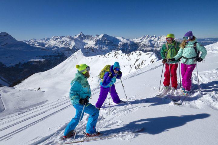 Ski dans le Massif