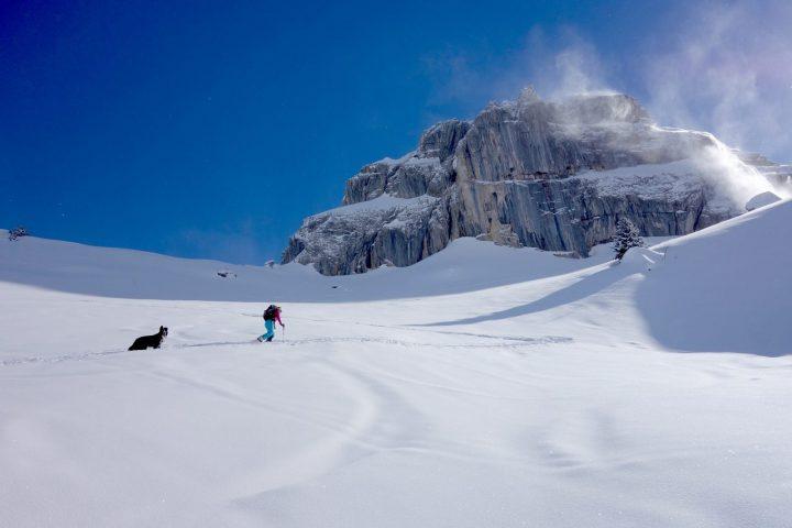 Guide de haute montagne ski de randonnee Grand Massif