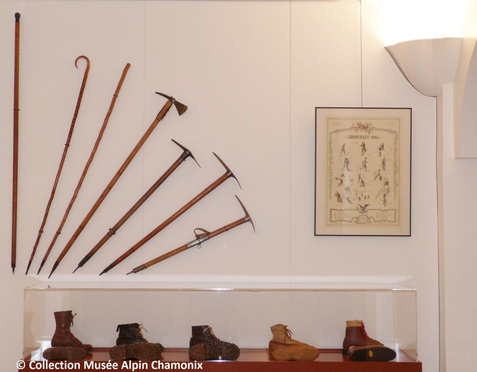 Musée Alpin Chamonix – salle alpinisme