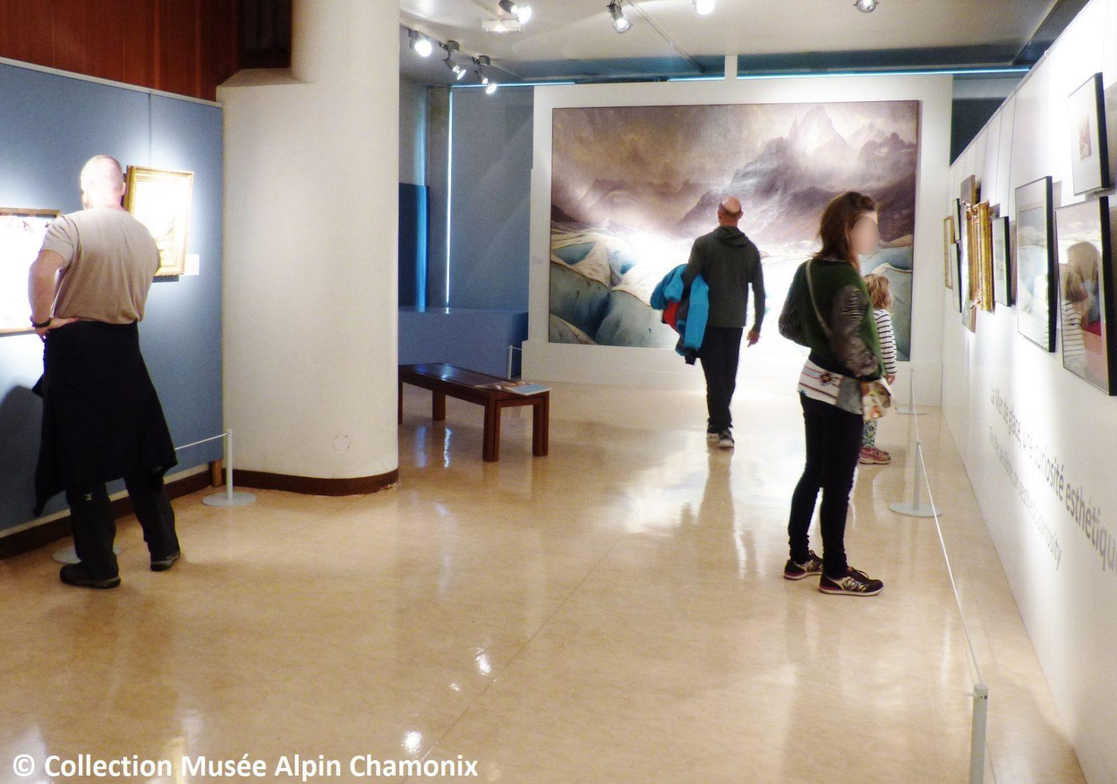 Musée Alpin Chamonix – salle mer de glace