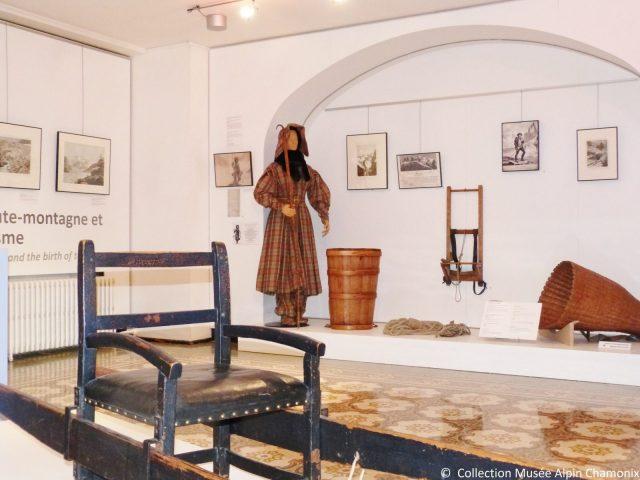 Musée Alpin Chamonix – salle repères conquêtes haute montagne