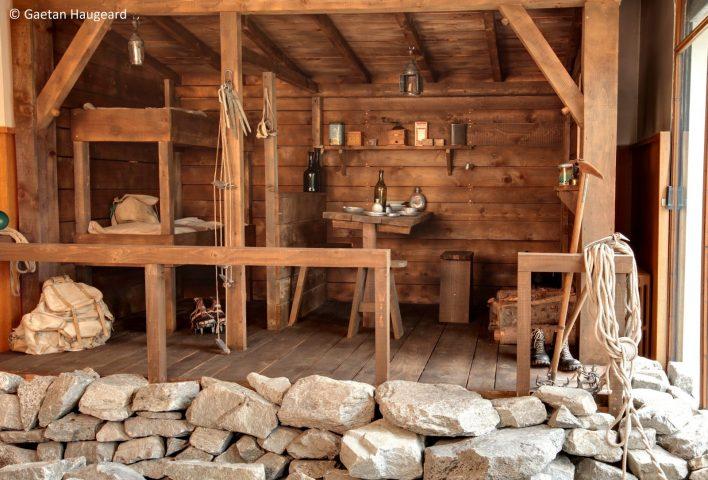 Musée Alpin Chamonix – refuge entrrée