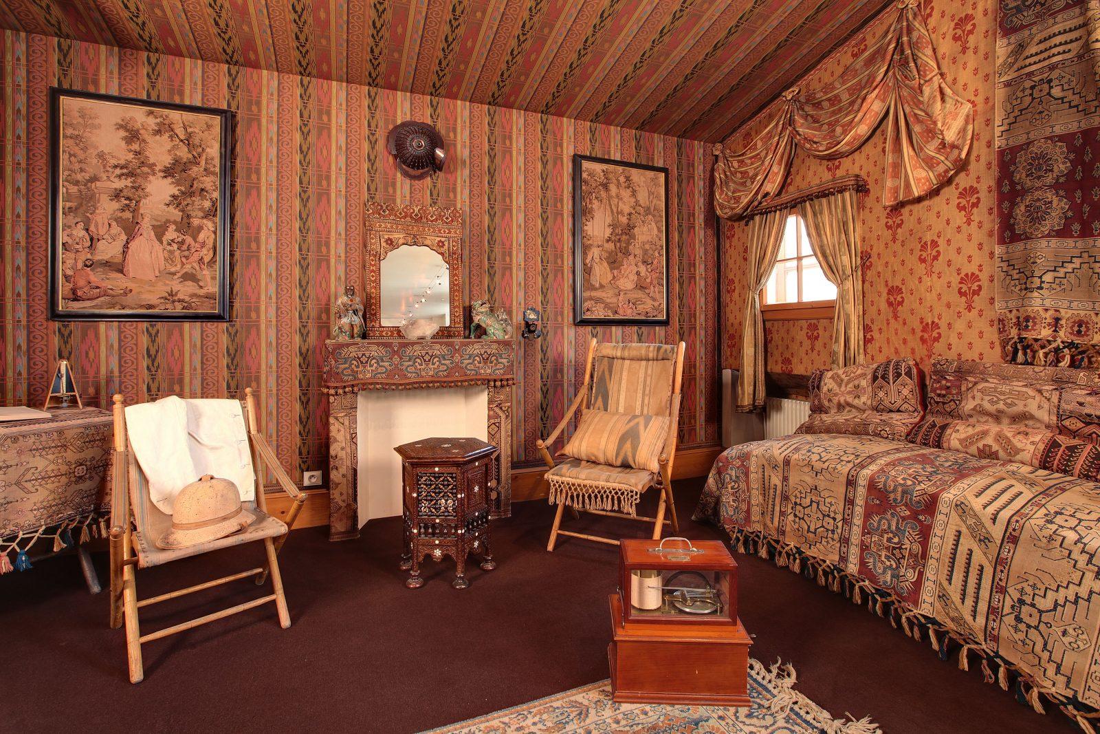 musée alpin chamonix -salon chinois