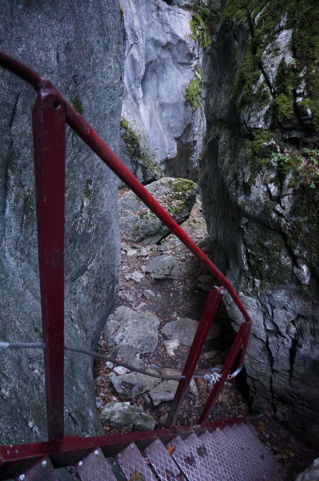 Balade des anciennes gorges