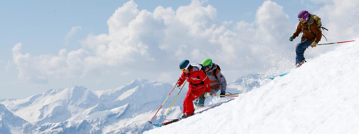 Ski hors piste ou Découverte du domaine du Grand Massif