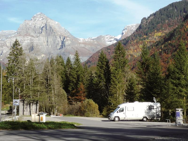 Aire de service – camping-car
