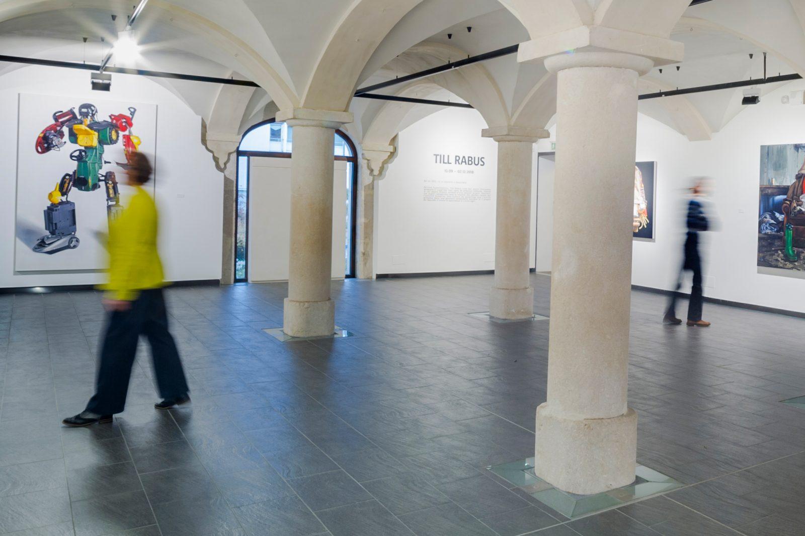 Art contemporain exposition Till Rabus 2018 Exposition