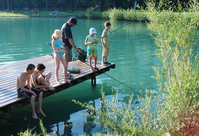 Pêche au Lac Bleu