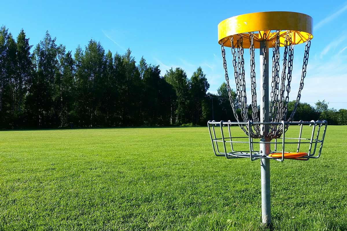 Panier disc golf
