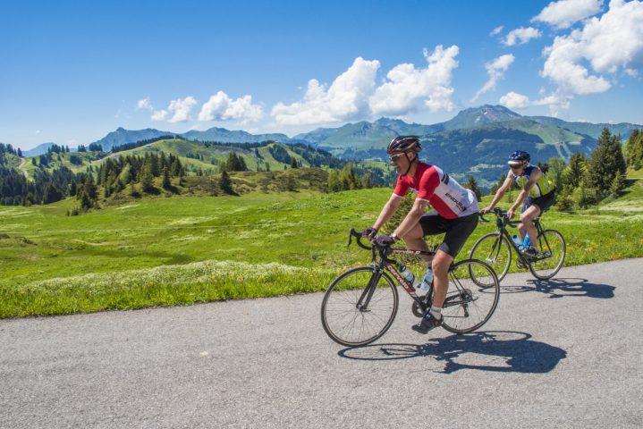 Cycliste col de Joux-Plane-© Dep74 – L. Guette
