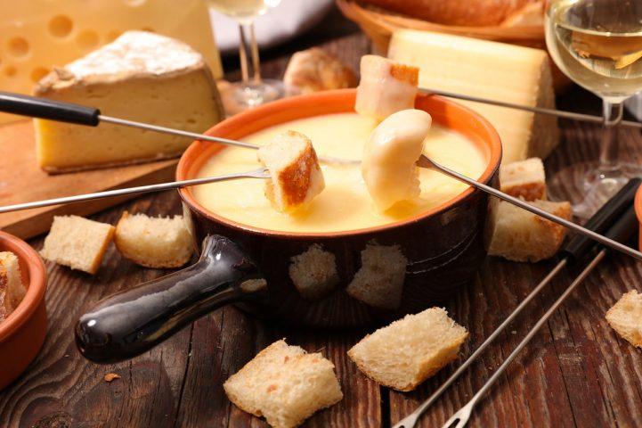 Le Bérouze dégustation de la fondue savoyarde