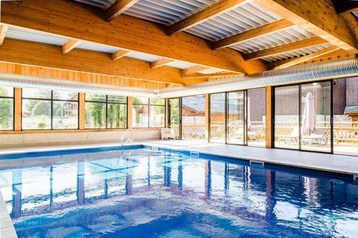 Le Bérouze nouvelle piscine couverte et chauffée
