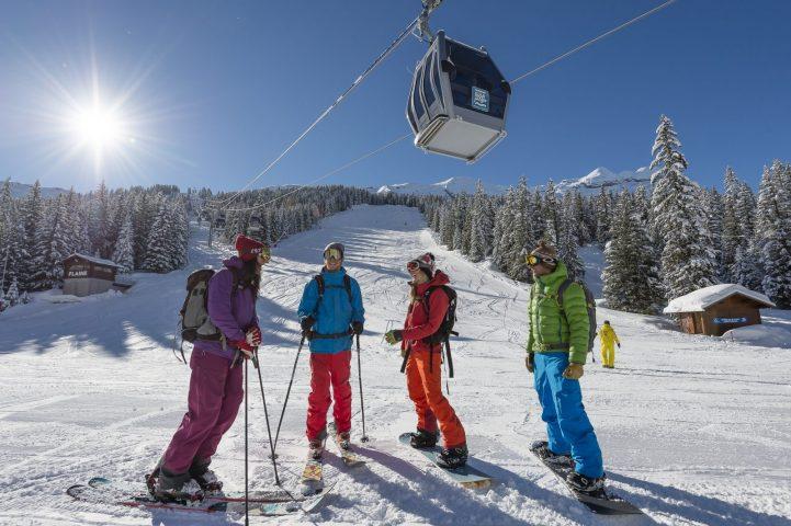 Le Bérouze club ados 100% ski l'hiver