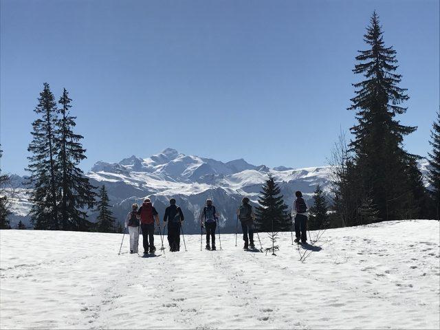 Le Bérouze sorties raquettes accompagnées l'hiver