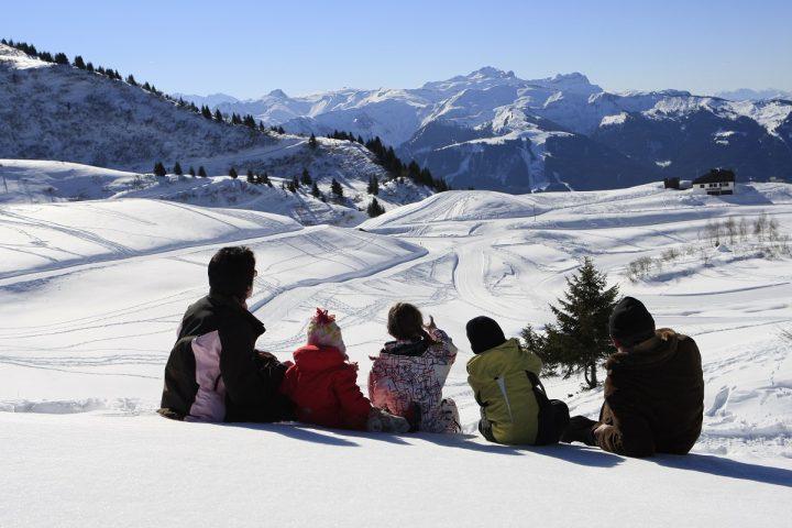 Le Bérouze séjour à la neige en famille l'hiver