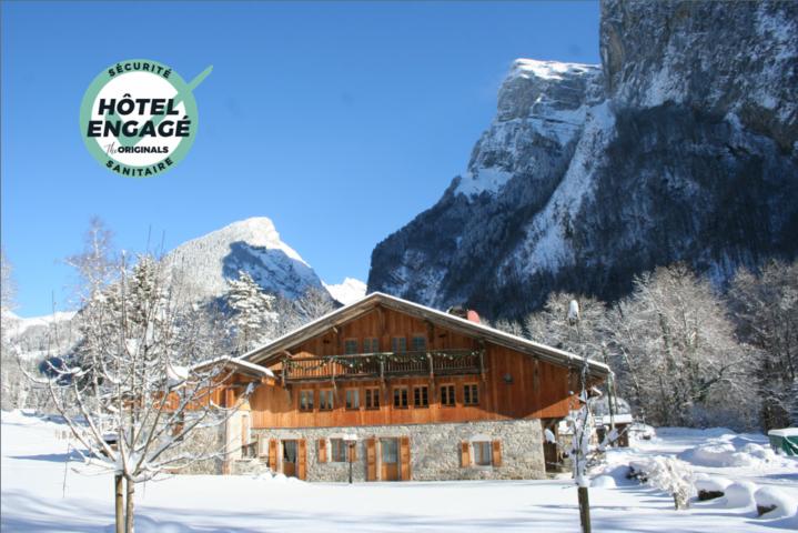Ferme des Fontany en hiver – Hôtel engagé sécurité sanitaire