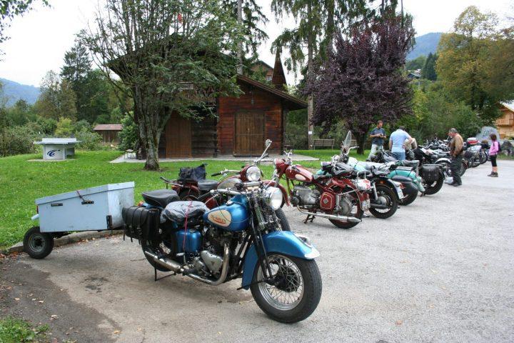 Rassemblement moto hôtel Neige et Roc