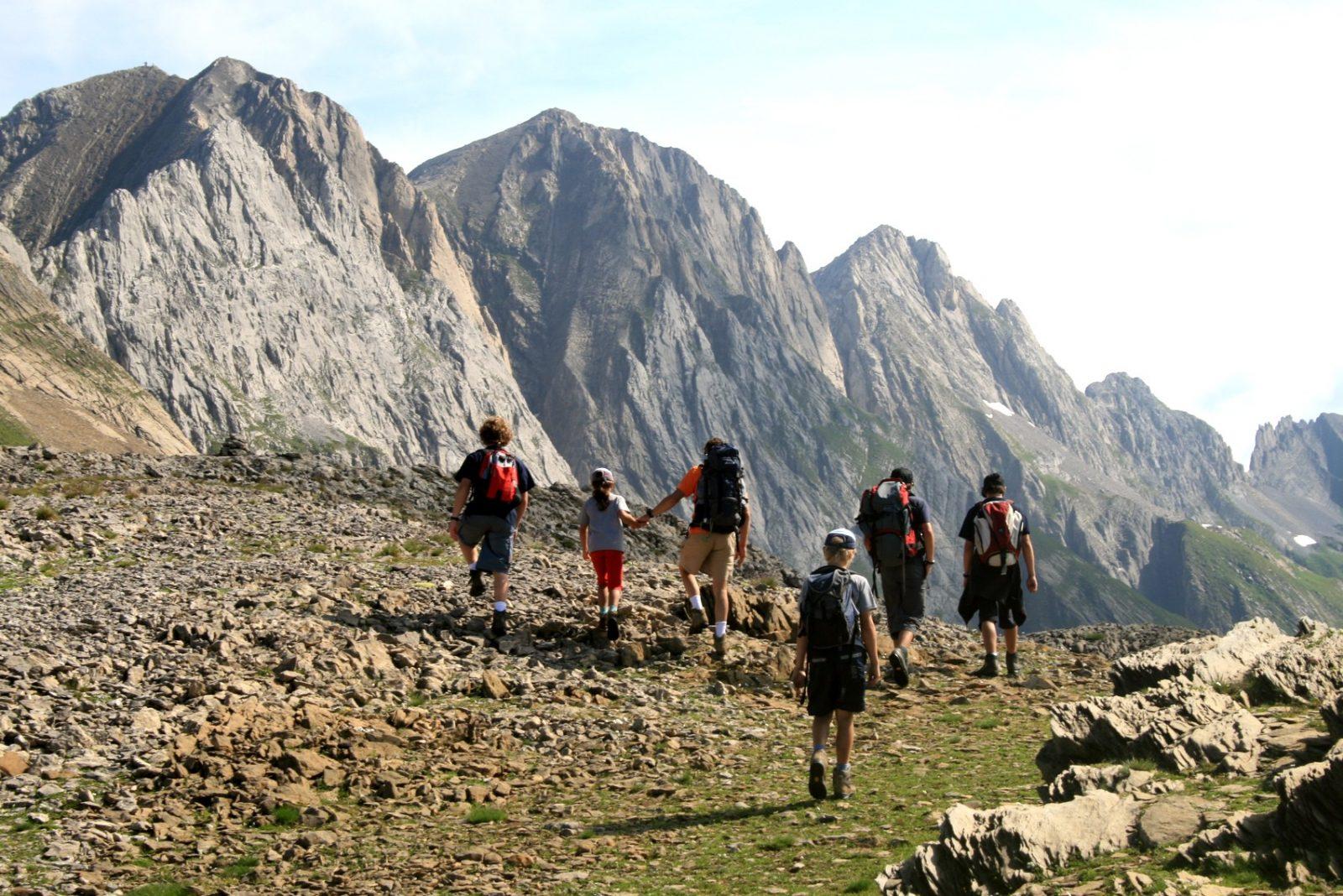 Randonnee Montagne Tour Des Dents Blanches Haute Savoie Grand Massif Montagnes Du Giffre
