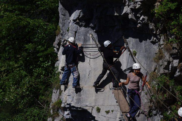 Via Ferrata des Monts à Nunayak