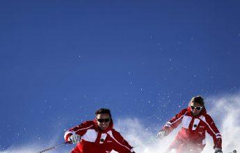 Epreuve de ski : Chamois