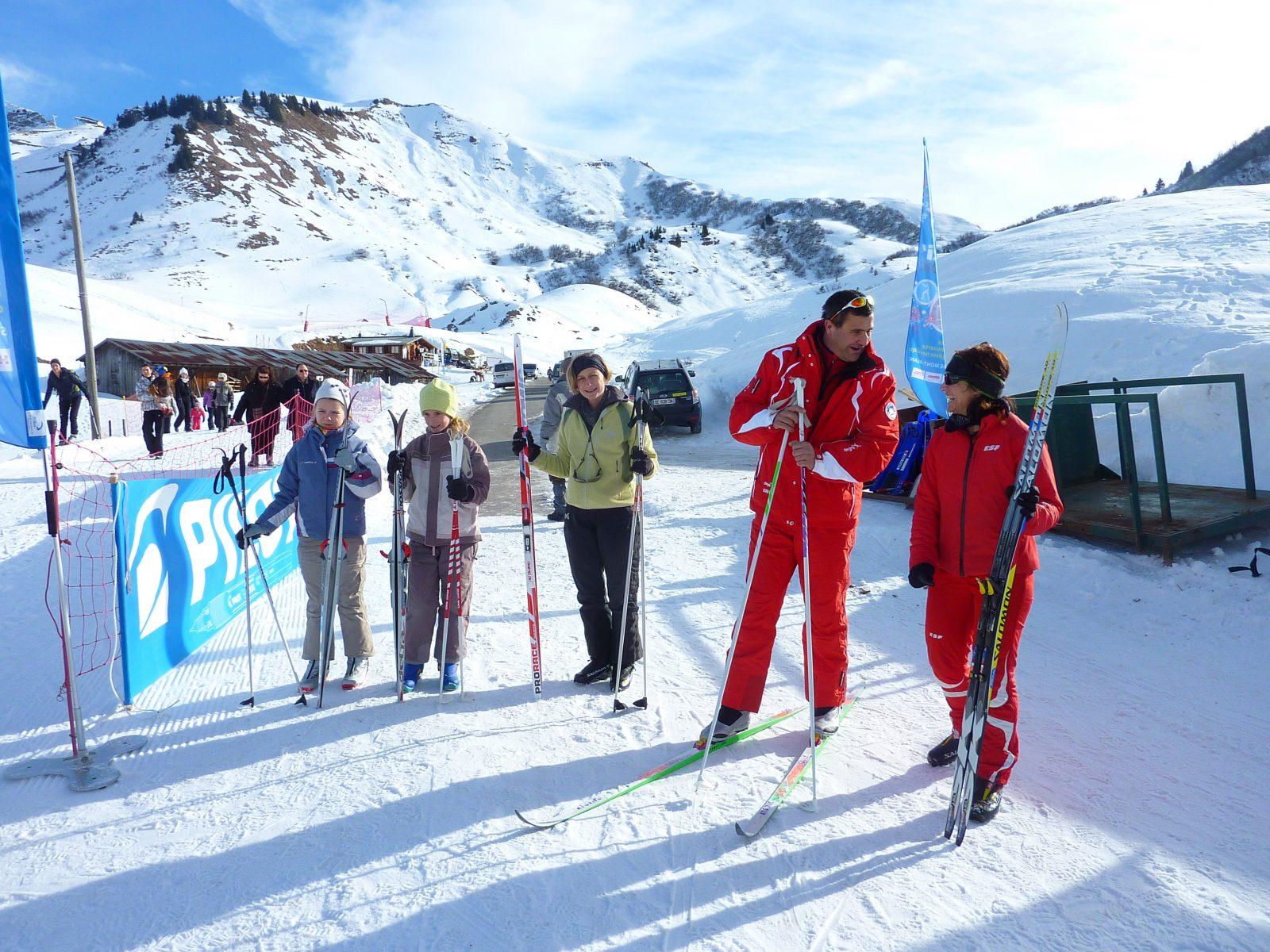 Cours particuliers de ski de fond