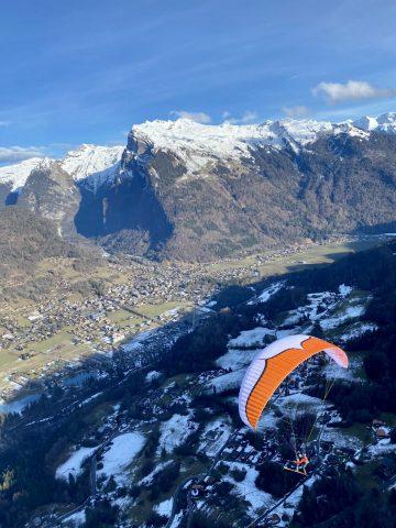 Super Combo : ski de rando et parapente