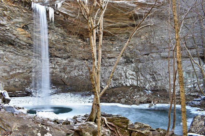 Canyon hivernal