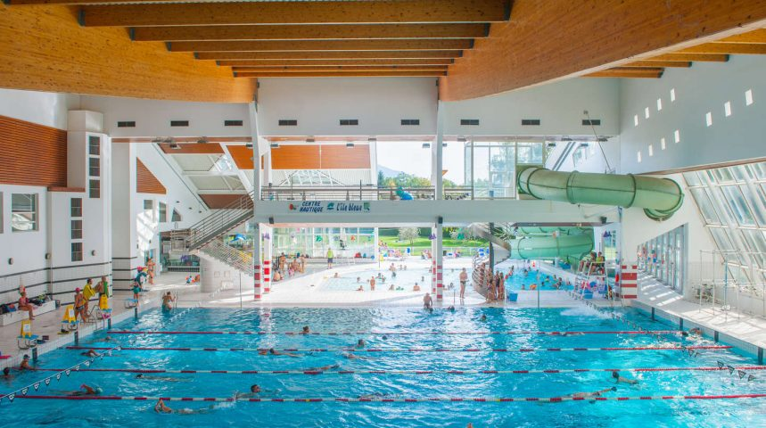 Seynod Annecy piscine ludique jeu d'eau